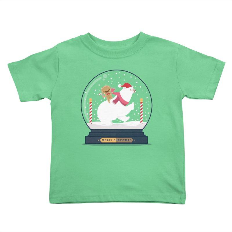GINGER RIDER Kids Toddler T-Shirt by Vintage Pop Tee's Artist Shop
