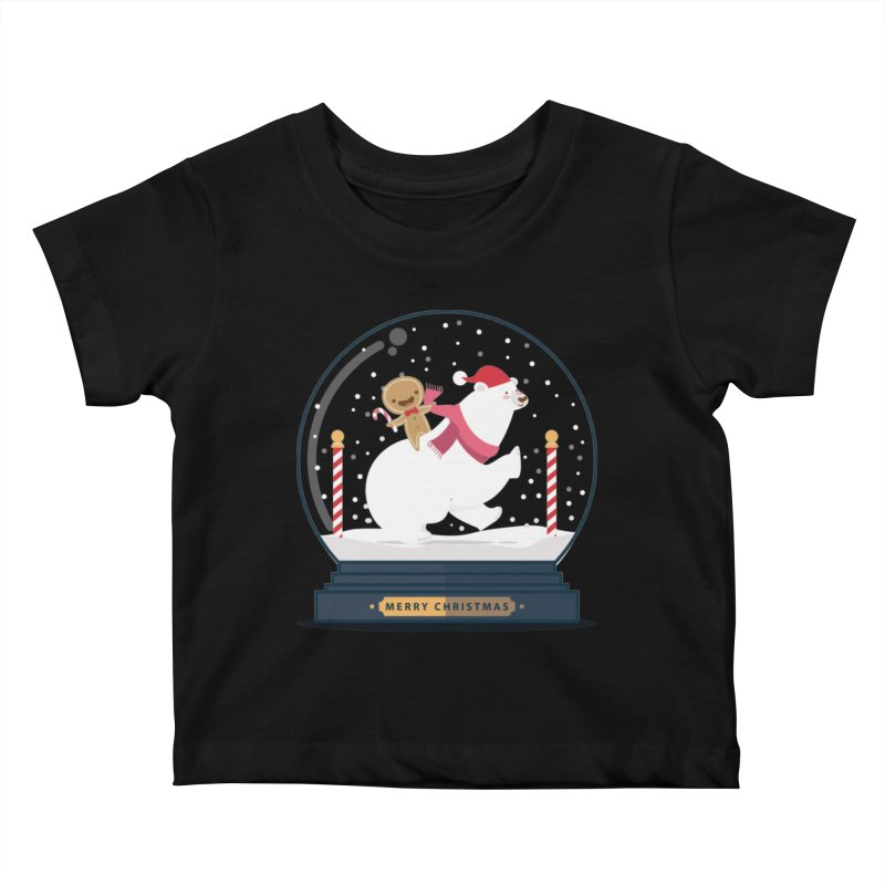 GINGER RIDER Kids Baby T-Shirt by Vintage Pop Tee's Artist Shop