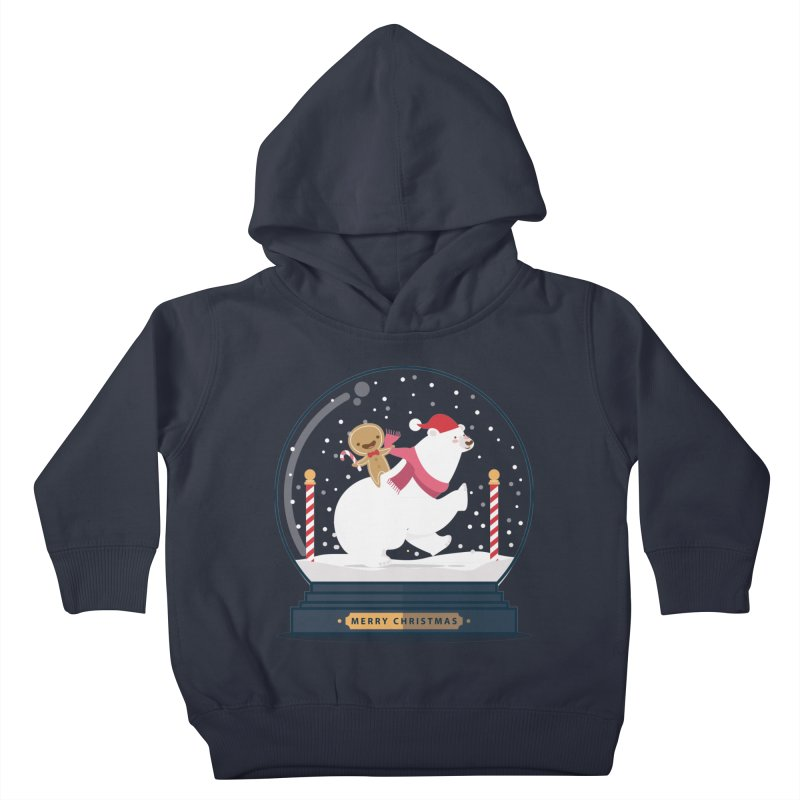 GINGER RIDER Kids Toddler Pullover Hoody by Vintage Pop Tee's Artist Shop