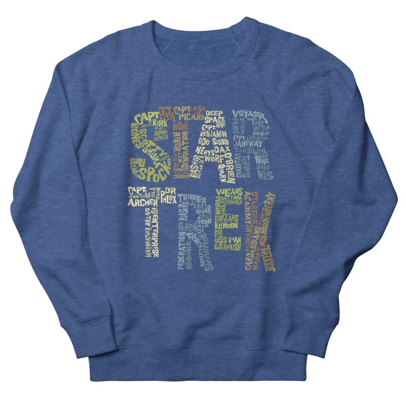 Star Trek Luv Women's Sweatshirt by Vintage Pop Tee's Artist Shop