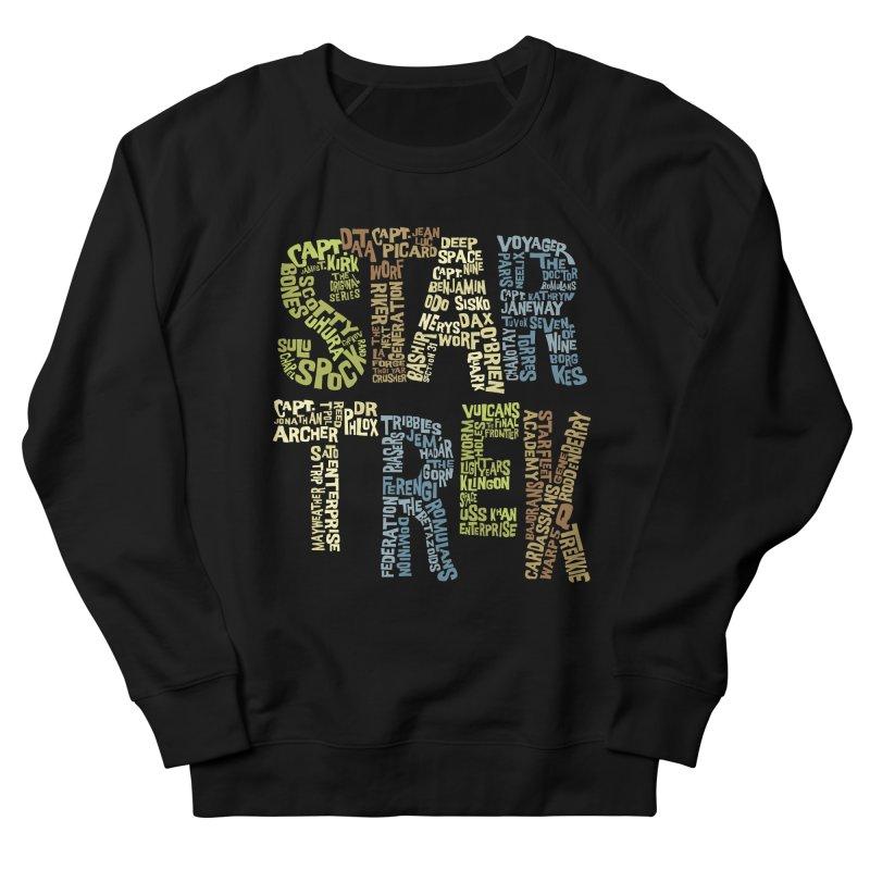 Star Trek Luv Men's Sweatshirt by Vintage Pop Tee's Artist Shop
