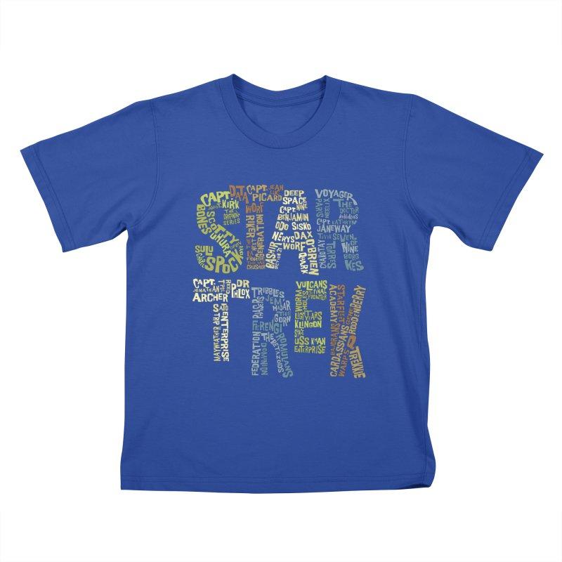 Star Trek Luv Kids T-shirt by Vintage Pop Tee's Artist Shop