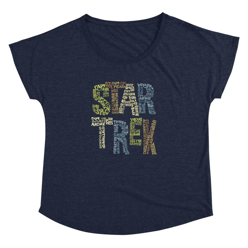 Star Trek Luv Women's  by Vintage Pop Tee's Artist Shop