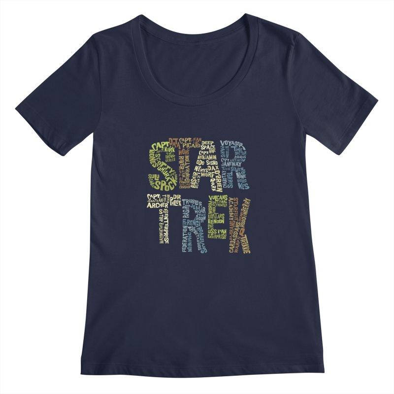 Star Trek Luv   by Vintage Pop Tee's Artist Shop