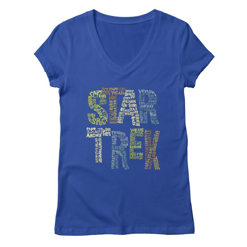 Star Trek Luv Women's  by Vintage Pop Tee's Artist Shop