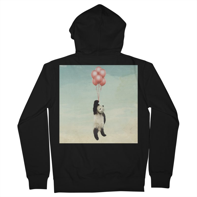 Pandaloon Women's Zip-Up Hoody by vinzzep's Artist Shop