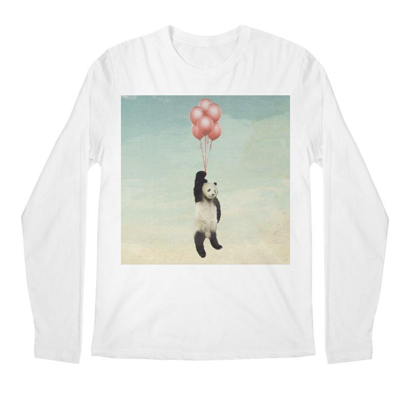 Pandaloon Men's Longsleeve T-Shirt by vinzzep's Artist Shop