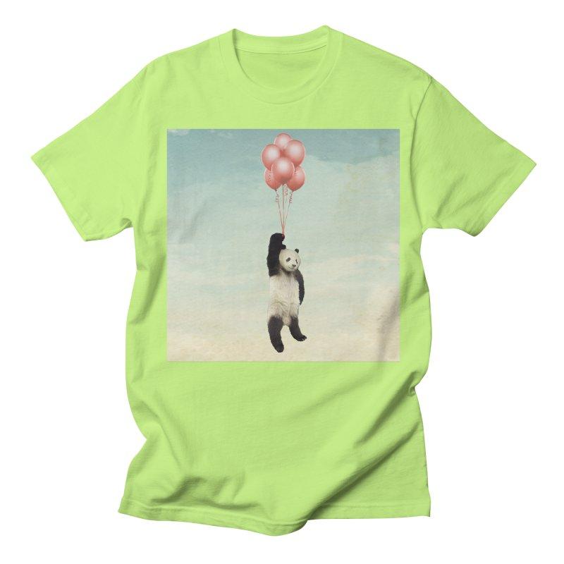 Pandaloon Men's T-Shirt by vinzzep's Artist Shop