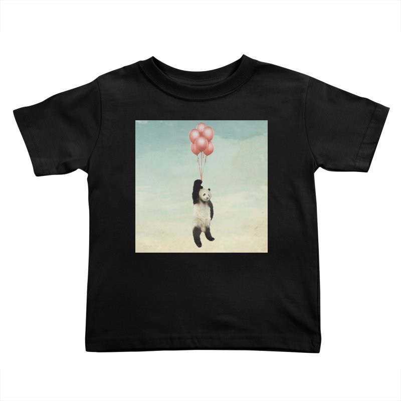Pandaloon Kids Toddler T-Shirt by vinzzep's Artist Shop