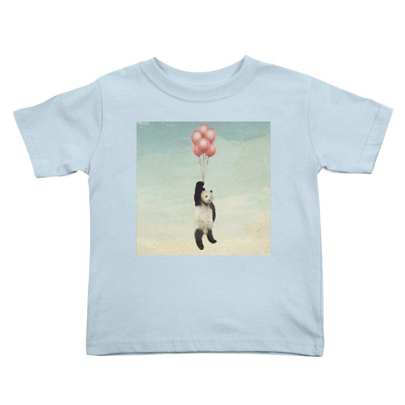 Pandaloon Kids Toddler T-Shirt by vinzzep's Artist Shop