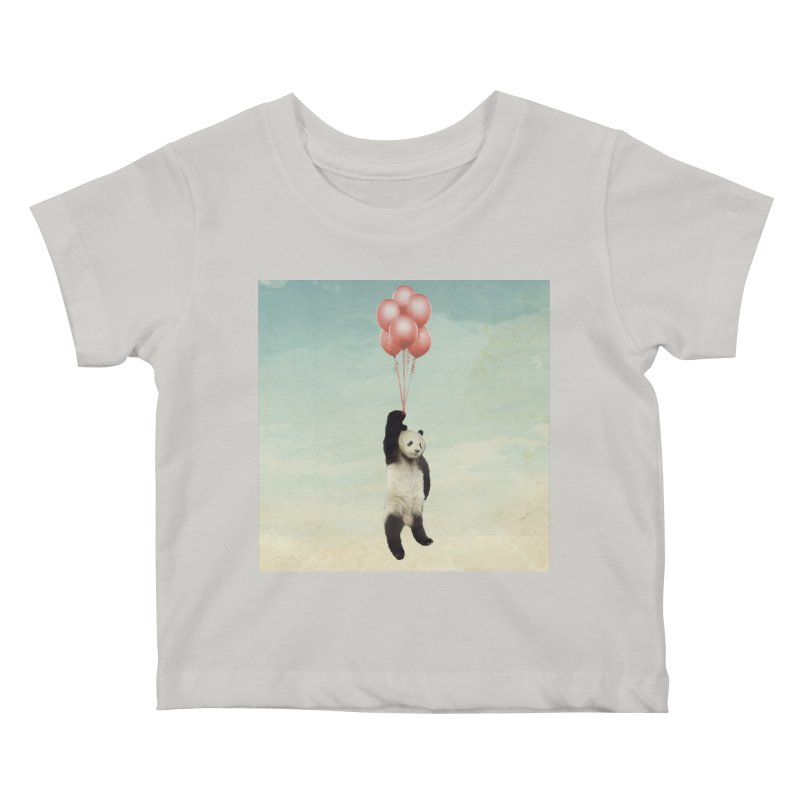 Pandaloon Kids Baby T-Shirt by vinzzep's Artist Shop