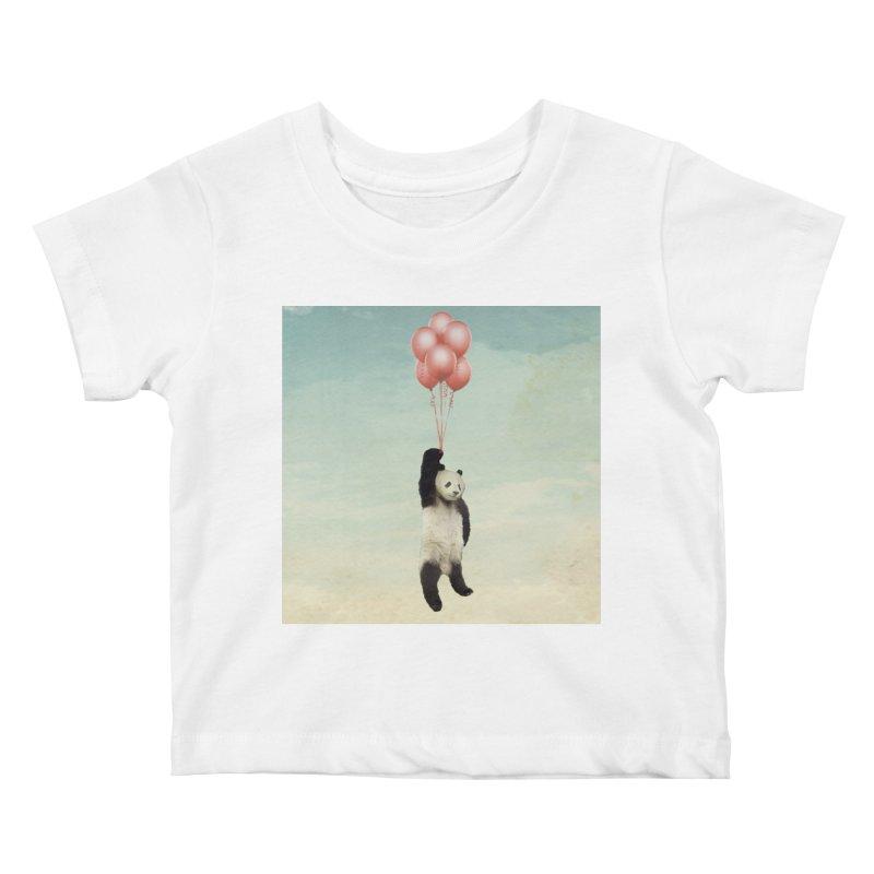 Pandaloon Kids Baby T-Shirt by vinzzep's Artist Shop