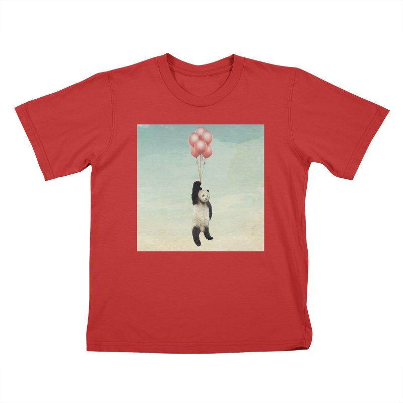Pandaloon Kids T-shirt by vinzzep's Artist Shop