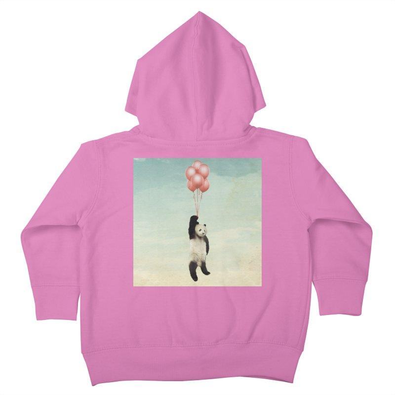 Pandaloon Kids Toddler Zip-Up Hoody by vinzzep's Artist Shop