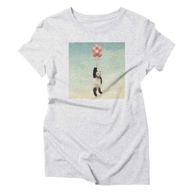 Pandaloon Women's Triblend T-Shirt by vinzzep's Artist Shop