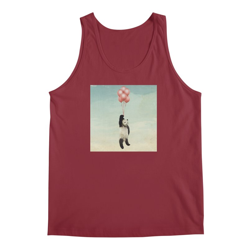 Pandaloon Men's Tank by vinzzep's Artist Shop