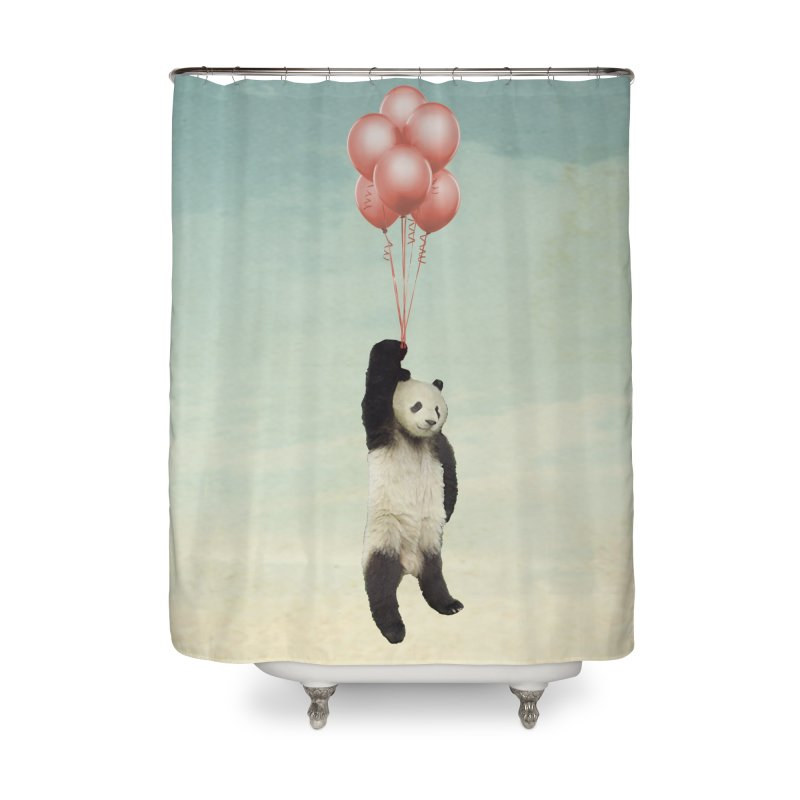 Pandaloon Home Shower Curtain by vinzzep's Artist Shop