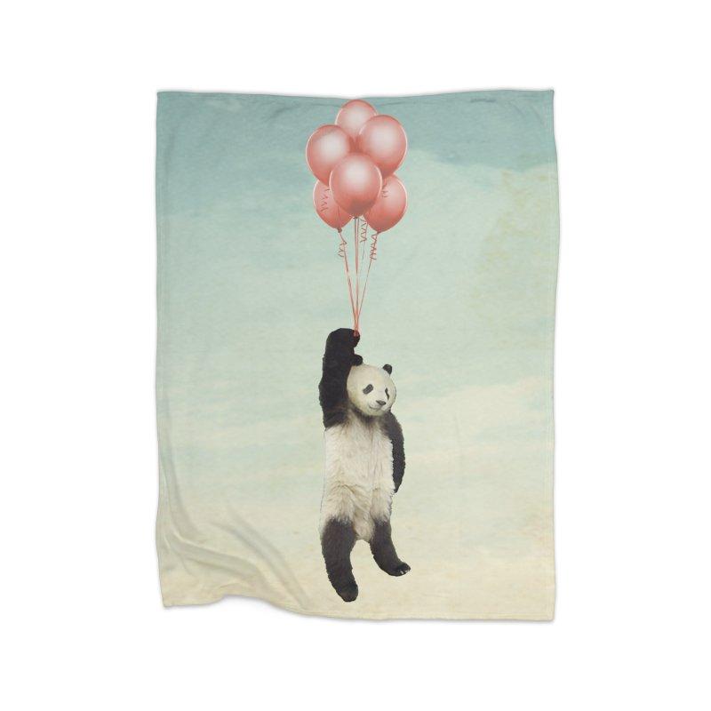 Pandaloon Home Blanket by vinzzep's Artist Shop
