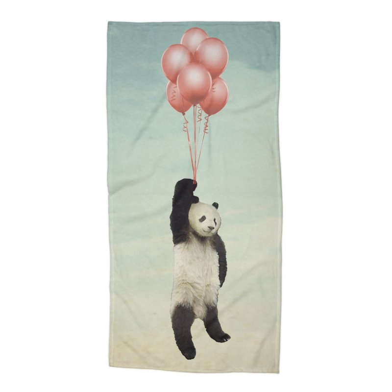 Pandaloon Accessories Beach Towel by vinzzep's Artist Shop