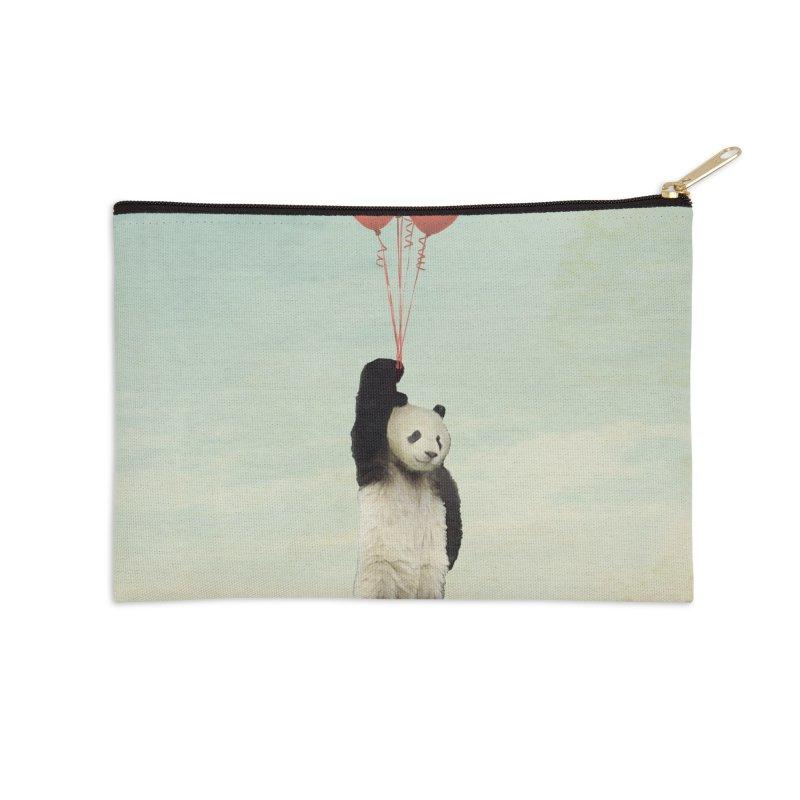 Pandaloon Accessories Zip Pouch by vinzzep's Artist Shop