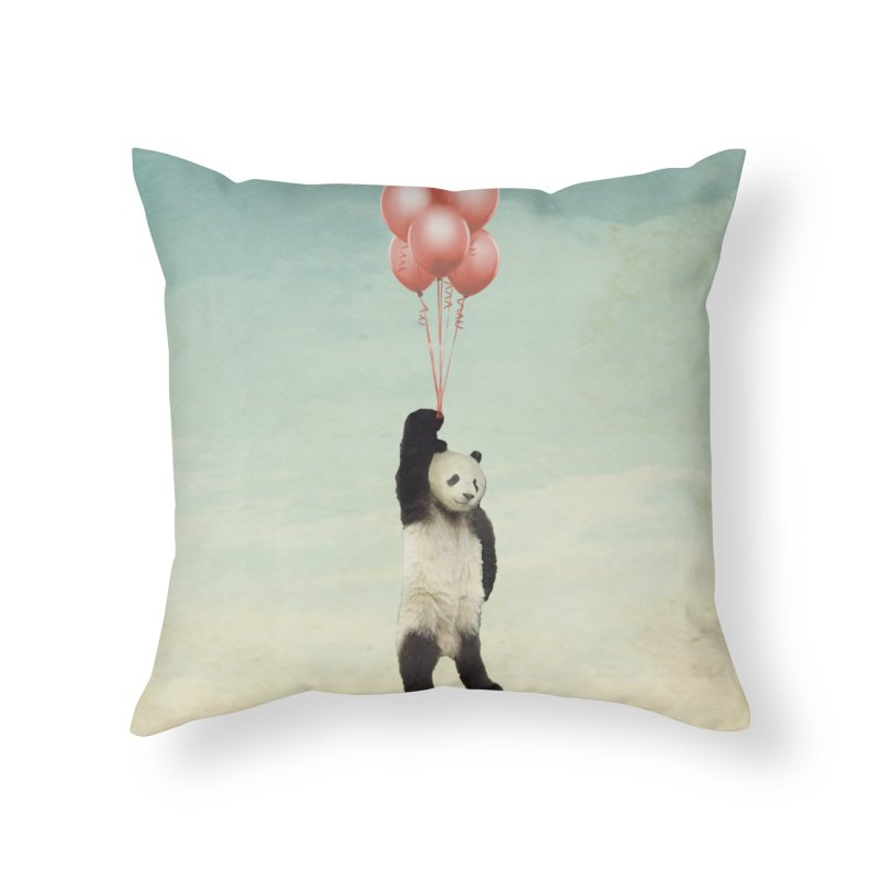 Pandaloon Home Throw Pillow by vinzzep's Artist Shop