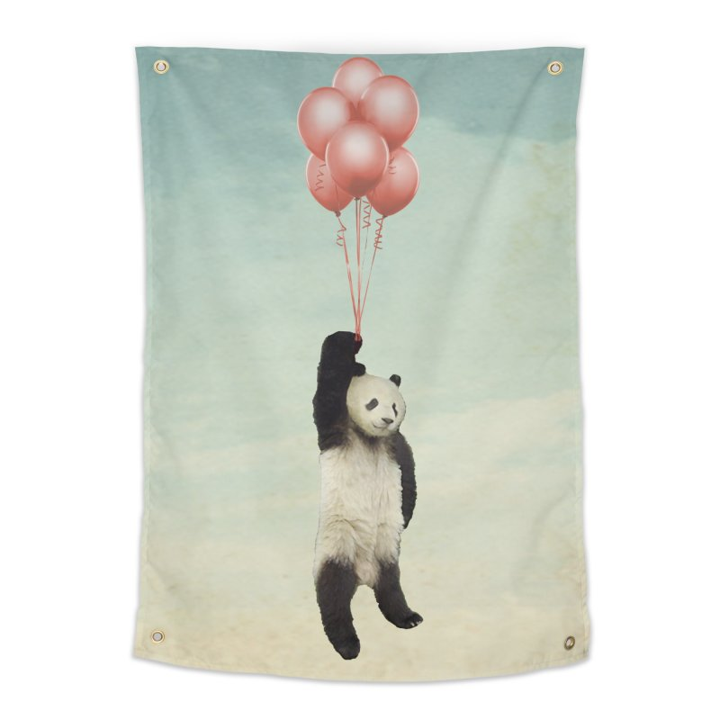 Pandaloon Home Tapestry by vinzzep's Artist Shop