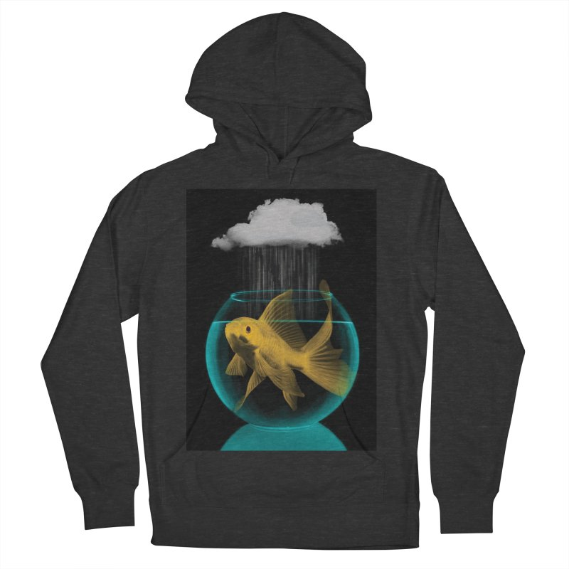 A Tight Spot in the Rain Women's Pullover Hoody by vinzzep's Artist Shop