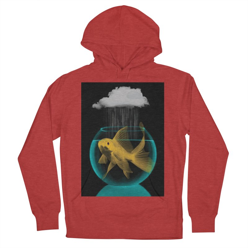 A Tight Spot in the Rain Men's Pullover Hoody by vinzzep's Artist Shop