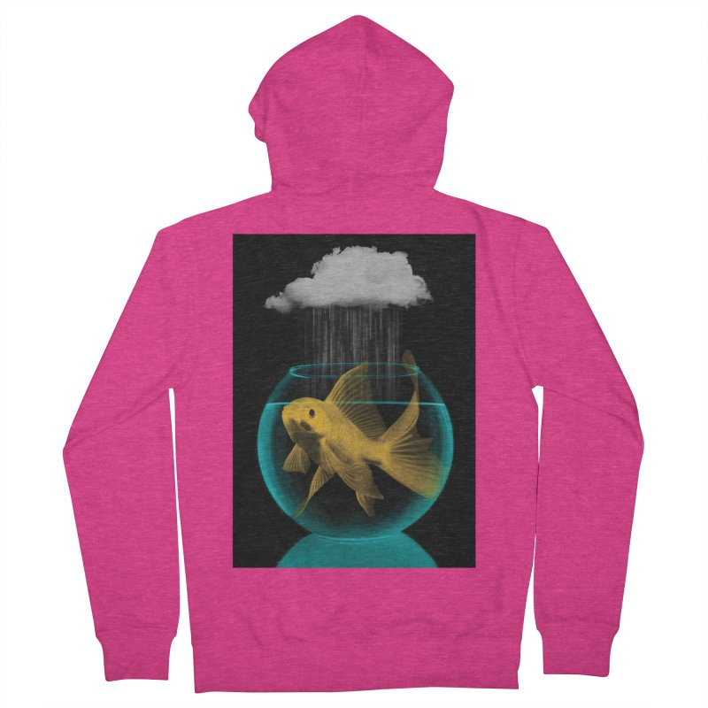 A Tight Spot in the Rain Women's Zip-Up Hoody by vinzzep's Artist Shop