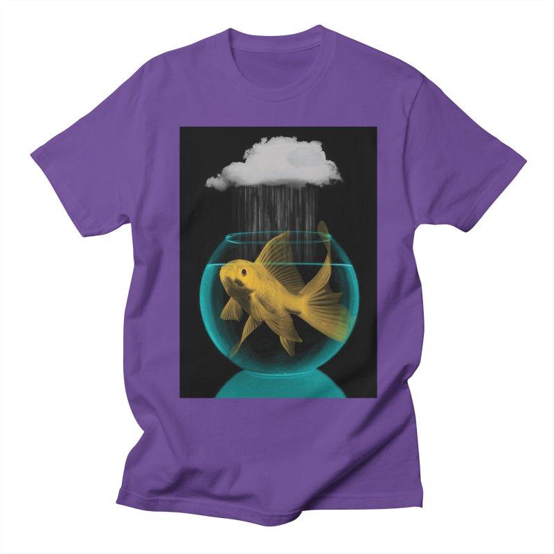 A Tight Spot in the Rain Men's T-Shirt by vinzzep's Artist Shop