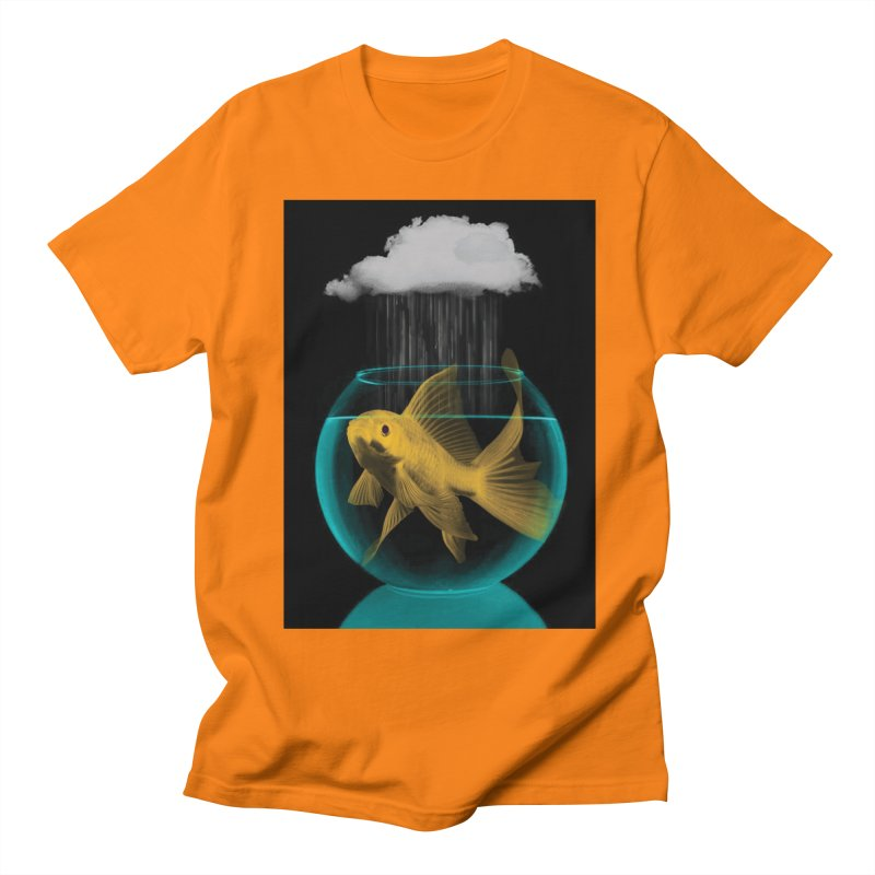 A Tight Spot in the Rain Women's Unisex T-Shirt by vinzzep's Artist Shop