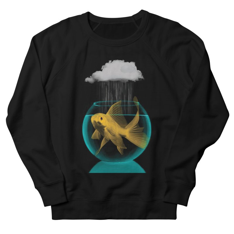 A Tight Spot in the Rain Women's Sweatshirt by vinzzep's Artist Shop