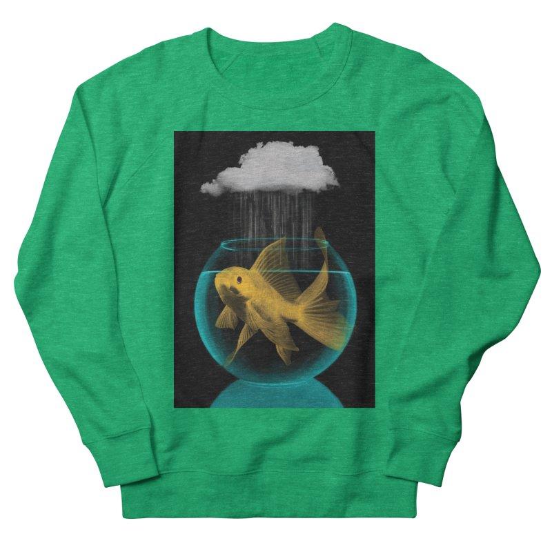 A Tight Spot in the Rain Men's Sweatshirt by vinzzep's Artist Shop