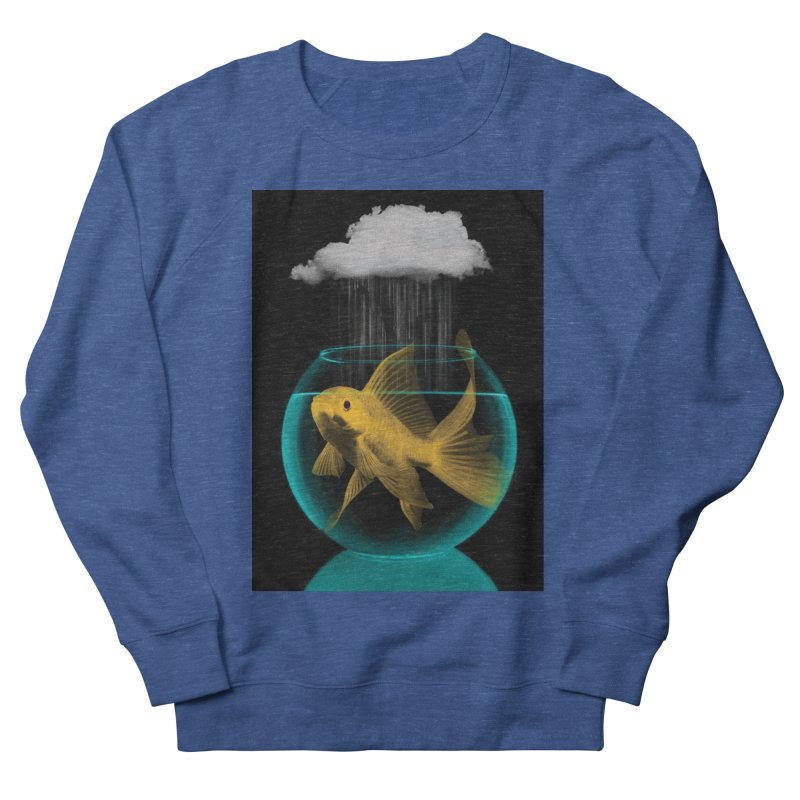 A Tight Spot in the Rain Men's Sweatshirt by vinzzep's Artist Shop