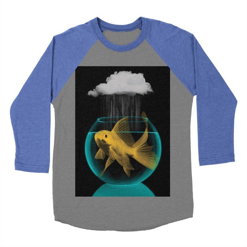 A Tight Spot in the Rain Men's Baseball Triblend T-Shirt by vinzzep's Artist Shop
