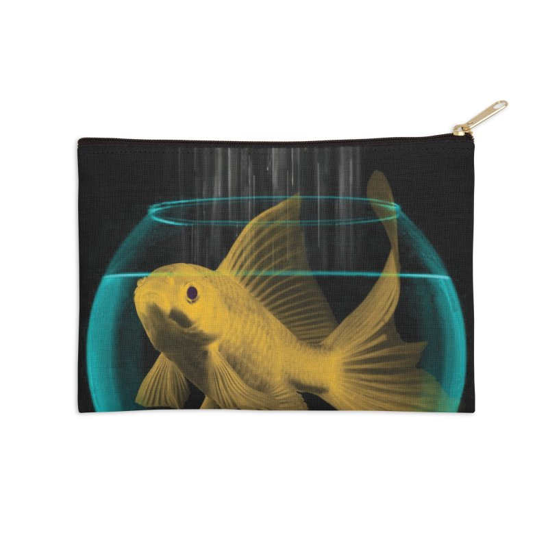 A Tight Spot in the Rain Accessories Zip Pouch by vinzzep's Artist Shop