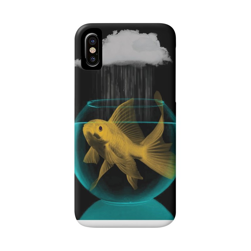 A Tight Spot in the Rain Accessories Phone Case by vinzzep's Artist Shop