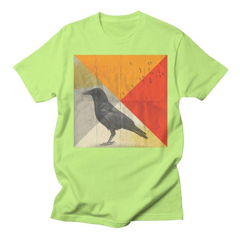 Angle of a Raven Men's T-shirt by vinzzep's Artist Shop