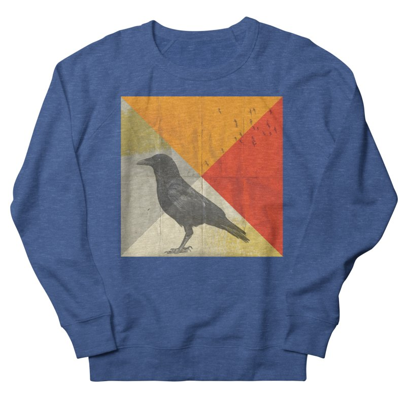 Angle of a Raven Women's Sweatshirt by vinzzep's Artist Shop