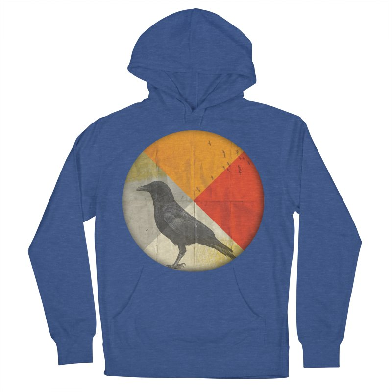Angle of a Raven Women's Pullover Hoody by vinzzep's Artist Shop