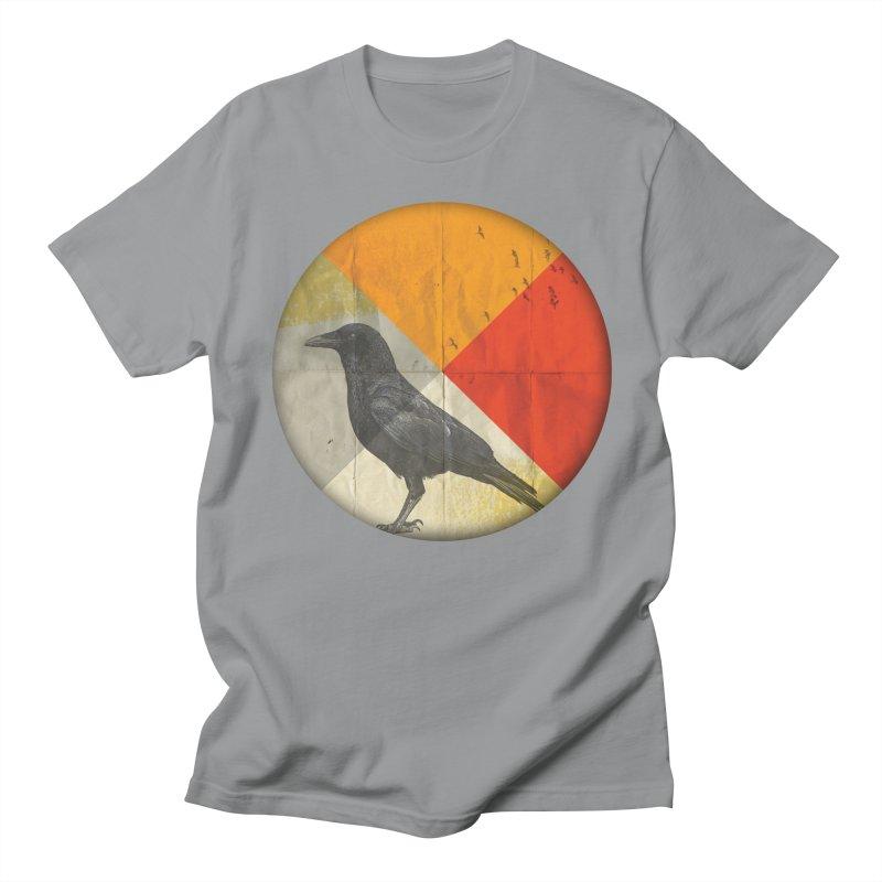 Angle of a Raven Women's Unisex T-Shirt by vinzzep's Artist Shop