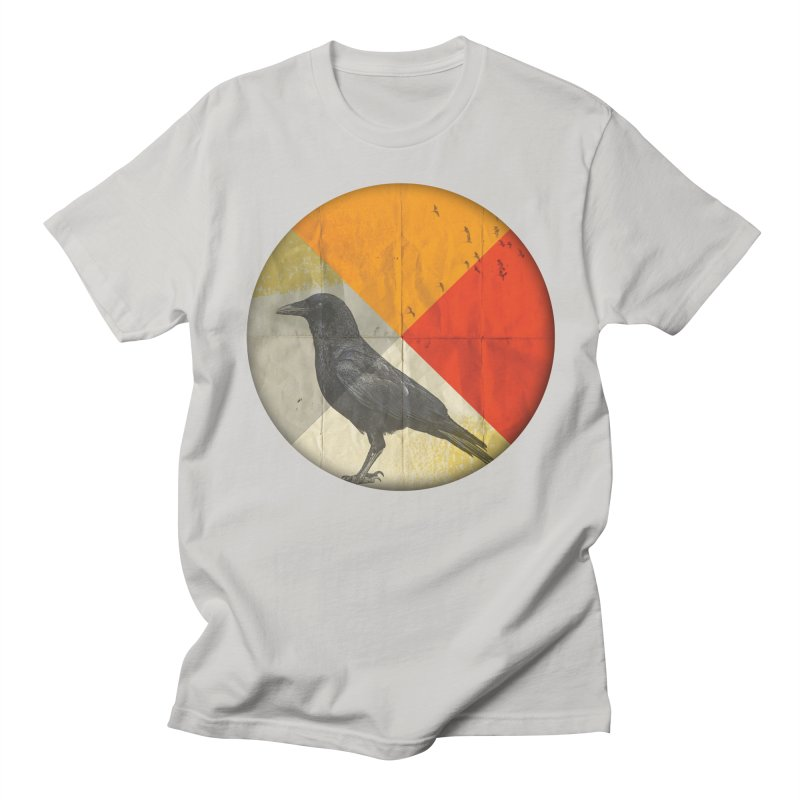 Angle of a Raven Women's Unisex T-Shirt by vinzzep's Artist Shop