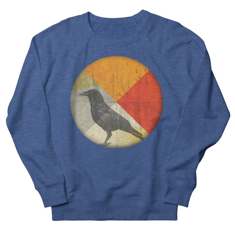 Angle of a Raven Women's Sweatshirt by vinzzep's Artist Shop