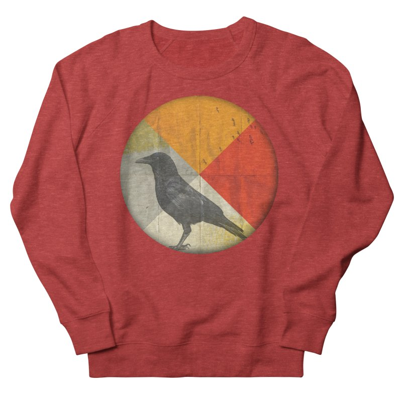 Angle of a Raven Men's Sweatshirt by vinzzep's Artist Shop