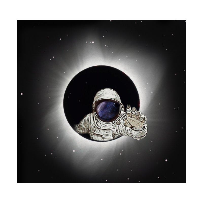 Astronaut  Eclipse by Vin Zzep's Artist Shop