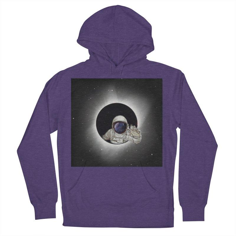 Astronaut  Eclipse Men's Pullover Hoody by Vin Zzep's Artist Shop