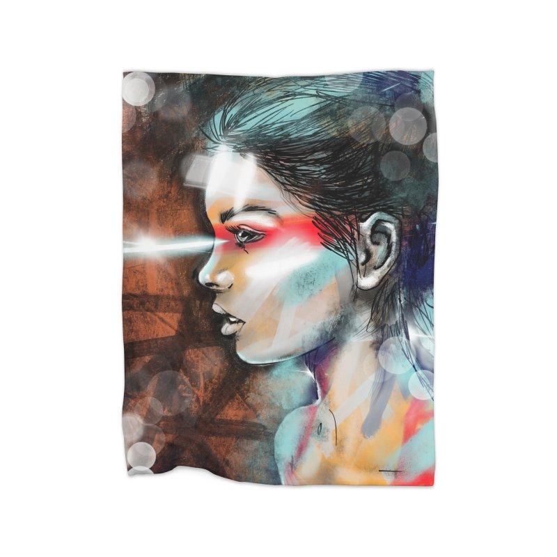 Nova Spike Home Blanket by Vin Zzep's Artist Shop