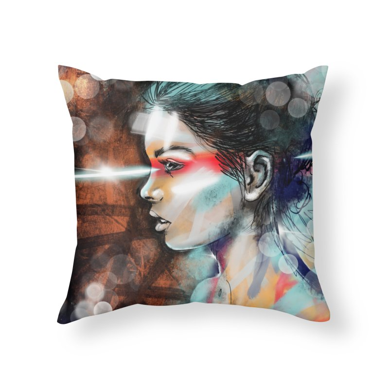Nova Spike Home Throw Pillow by Vin Zzep's Artist Shop