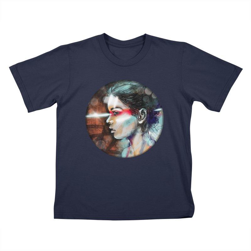Nova Spike Kids T-Shirt by Vin Zzep's Artist Shop
