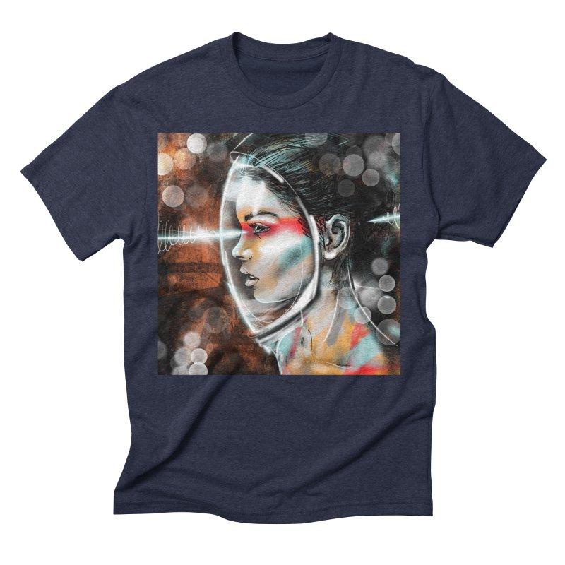 Nova Spike 01 Men's Triblend T-Shirt by Vin Zzep's Artist Shop